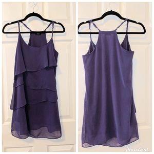 Purple poetry dress